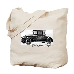 Vintage That's How I Roll Tote Bag