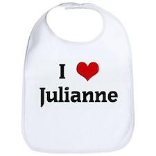 I Love Julianne Bib