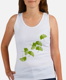 Ginkgo Leaves Women's Tank Top