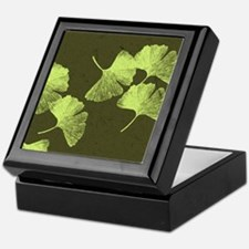 Ginkgo Leaves Keepsake Box