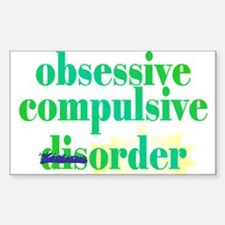 Obsessive Compulsive (Dis)Order - Decal