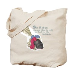 Fancy Sir Robyn Tote Bag