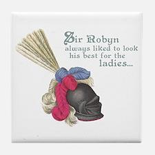 Fancy Sir Robyn Tile Coaster
