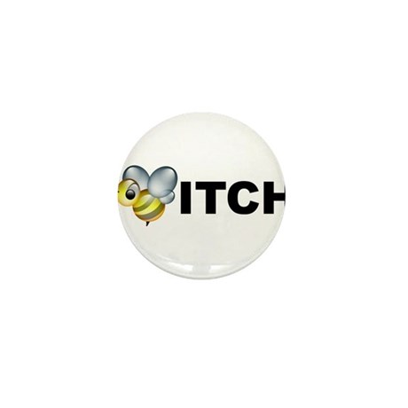 Bee-itch Mini Button (100 pack)