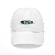 Artful Vegetarian Baseball Baseball Cap