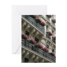 Sympathy Card with Paris Flowers