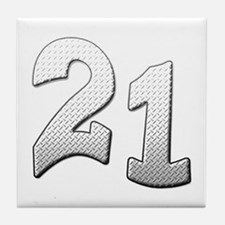 Cool 21st T-shirts Tile Coaster