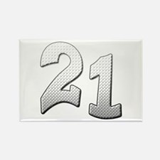 Cool 21st T-shirts Rectangle Magnet