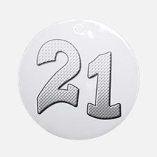 Cool 21st T-shirts Ornament (Round)