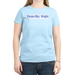 Future Mrs. Wright T-Shirt