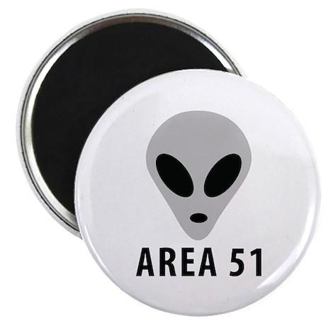 "area 51 space alien 2.25"" Magnet (100 pack)"