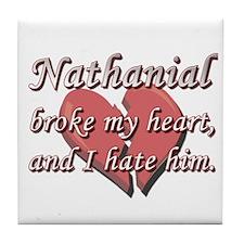 Nathanial broke my heart and I hate him Tile Coast
