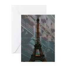 Love Card Eiffel Tower at Night