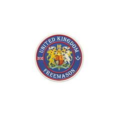 UK Masons Mini Button