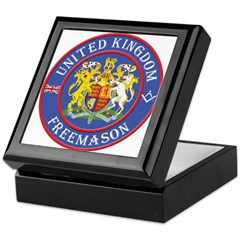 UK Masons Keepsake Box