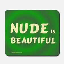 Beautiful NUDE - Mousepad