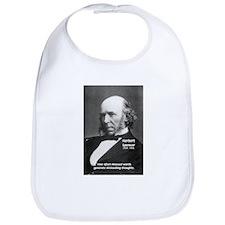 Evolutionist Herbert Spencer Bib