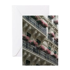 Paris Flower Card - Blank