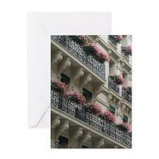 Birthday Card Paris Flowers