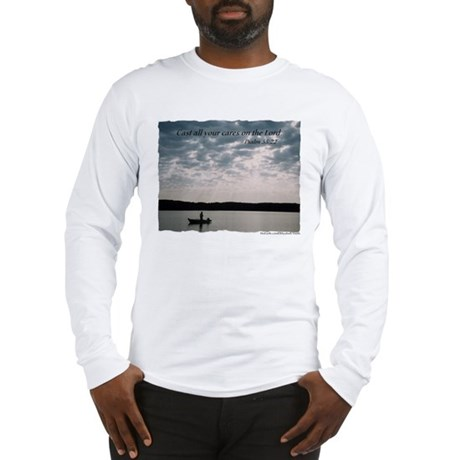 Long Sleeve T-shirt - Cast all your...