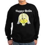 Smiley Face Bride Sweatshirt (dark)