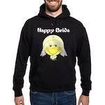 Smiley Face Bride Hoodie (dark)