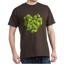 Ginkgo Leaf Heart T-Shirt