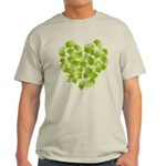 Ginkgo Leaf Heart Light T-Shirt
