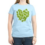 Ginkgo Leaf Heart Women's Light T-Shirt