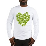 Ginkgo Leaf Heart Long Sleeve T-Shirt