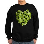 Ginkgo Leaf Heart Sweatshirt (dark)