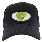 Ginkgo Leaf Heart Black Cap