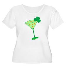 Shamrock Martini T-Shirt