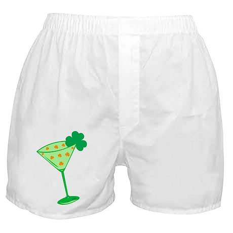 Shamrock Martini Boxer Shorts