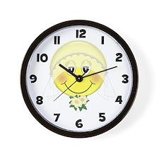 Happy Bride Wall Clock