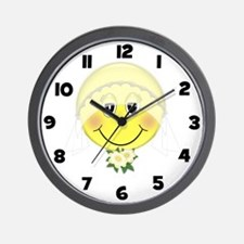 Happy Bride Wall Clock