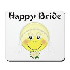 Happy Bride Mousepad