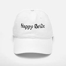 Happy Bride Baseball Baseball Cap