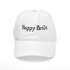 Happy Bride Baseball Cap
