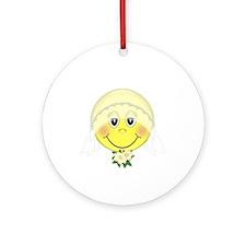 Happy Bride Ornament (Round)