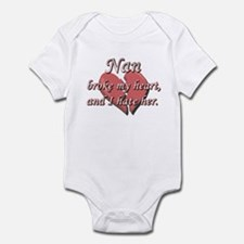 Nan broke my heart and I hate her Infant Bodysuit