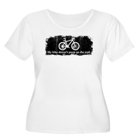 My bike doesn't poop on the t Women's Plus Size Sc