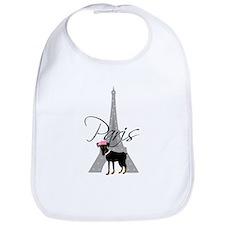 Le petit chien à Paris Bib