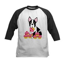 Boston Terrier with Cupcakes Tee