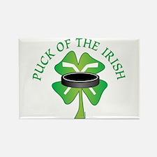 Puck of the Irish Rectangle Magnet