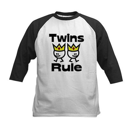 Twins Rule 2 Kids Baseball Jersey