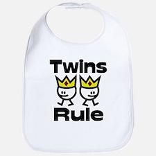 Twins Rule 2 Bib