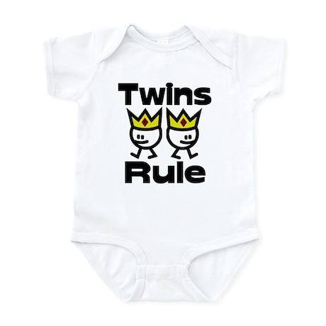 Twins Rule 2 Infant Bodysuit