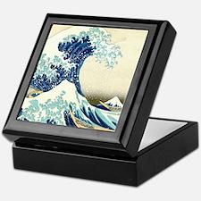Great Wave off Kanagawa Keepsake Box