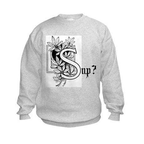 Sup? Kids Sweatshirt